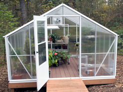 Americas Best Greenhouse Optional White Frame
