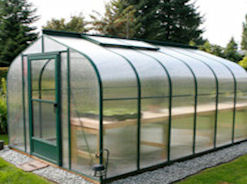 Evangeline Curved Eave Polycarbonate Greenhouses