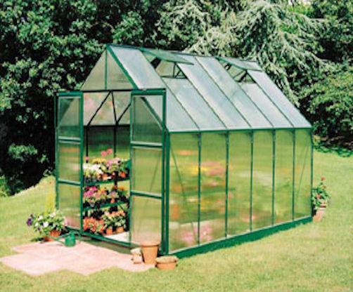 Halls Magnum Polycarbonate Greenhouse