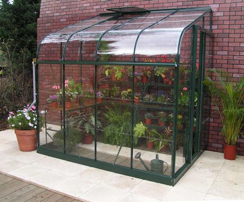 Glass Lean-To Greenhouse Kits