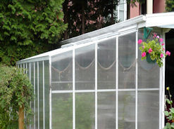 Evangeline Greenhouse with Lower Roof Pitch