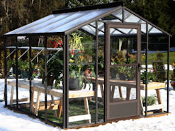 glass greenhouses