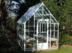 Acadian Greenhouse with Cathedral Roof