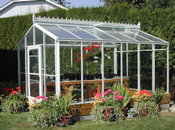 Acadian Greenhouse with Standard Rooof